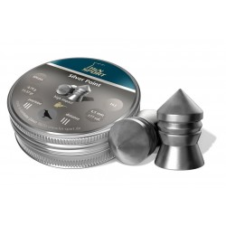 Balines H&N Sport Silver Point 4,5 mm 500 ud