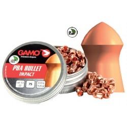 Balines Gamo PBA Bullet 5,5 mm 75 ud