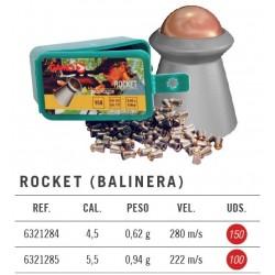 Balines Gamo Rocket 4,5 mm 150 ud