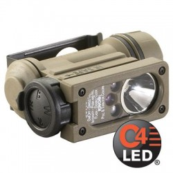 Linterna Streamlight Sidewinder Compact II Militar Montura Casco