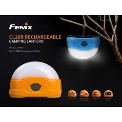 Linterna Fenix Camping CL20R Azul 300 Lumens Recargable