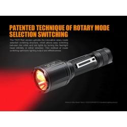 Linterna Fenix TK25Red Roja 1000 Lumens (Luz blanca y roja)