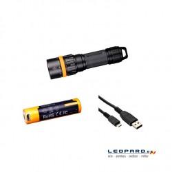 Linterna Fénix Buceo SD11 1000 LumenS Sumergible Pack Recargable