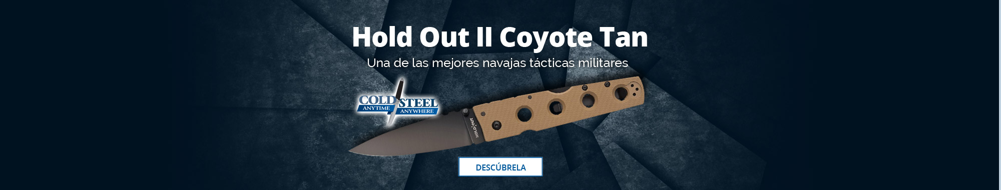 Cold Steel Hold Out II Coyote